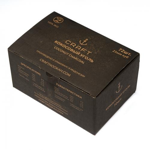 Уголь для кальяна CRAFT (25) 72 шт
