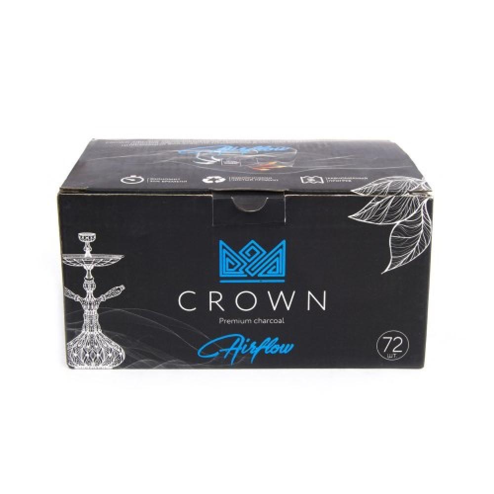 Уголь для кальяна CROWN AIRFLOW 72 шт