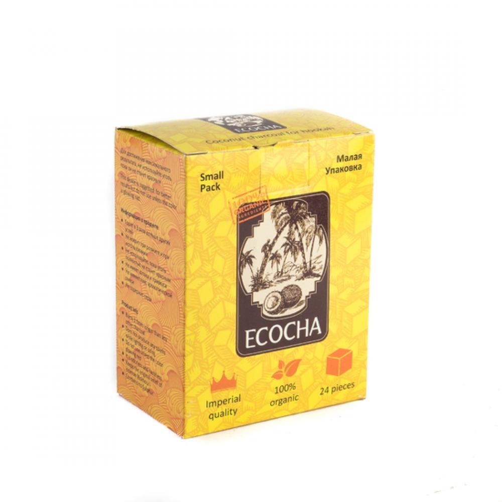 Уголь для кальяна Ecocha (22) 24 шт.