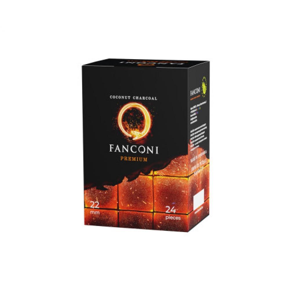 Уголь для кальяна Fanconi (22) 24 шт.