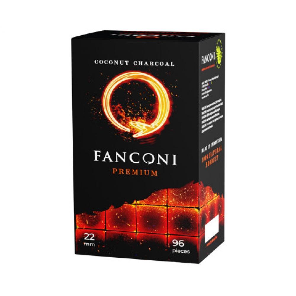 Уголь для кальяна Fanconi (22) 96 шт.