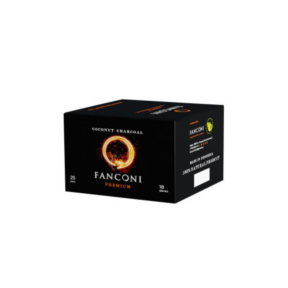 Уголь для кальяна Fanconi (25) 18 шт.