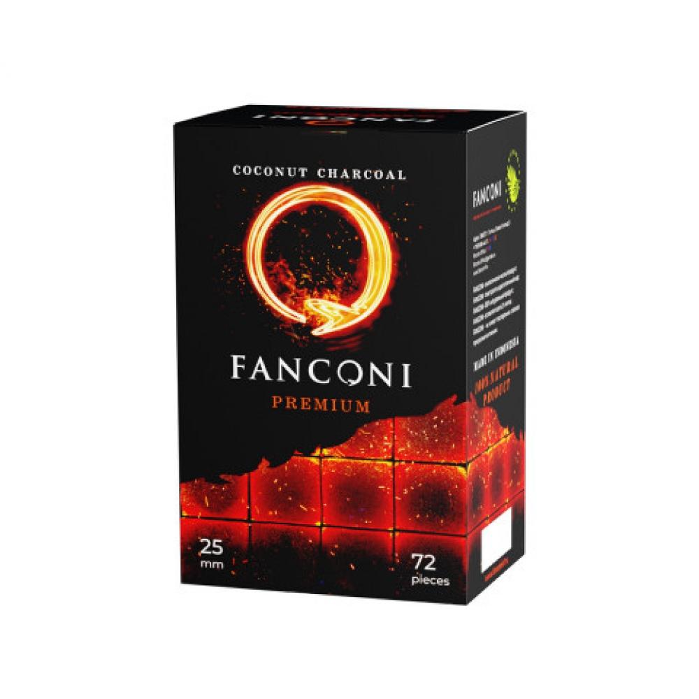 Уголь для кальяна Fanconi (25) 72 шт.
