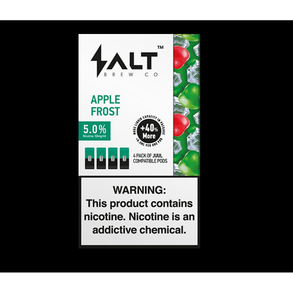 Картриджи для Juul (Джул) SALT - Apple Frost (4)