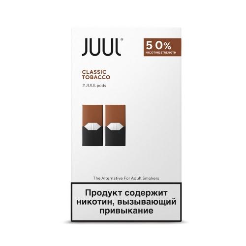 Картриджи Juul (Джул) - Classic Tobacco (2)