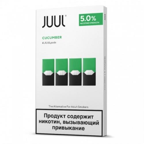 Картриджи Juul (Джул) - Cucumber (4)