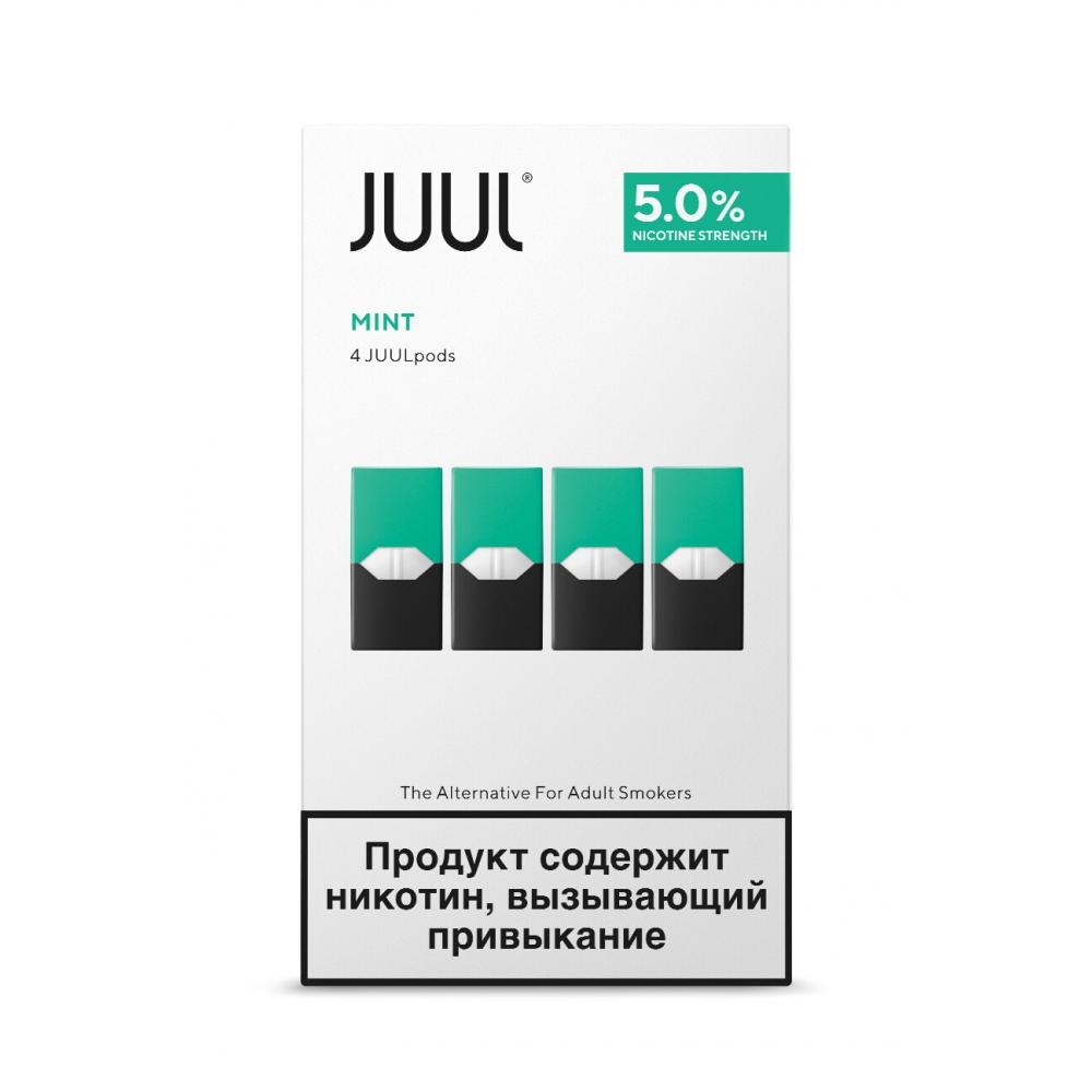 Картриджи Juul (Джул) - Mint (4)
