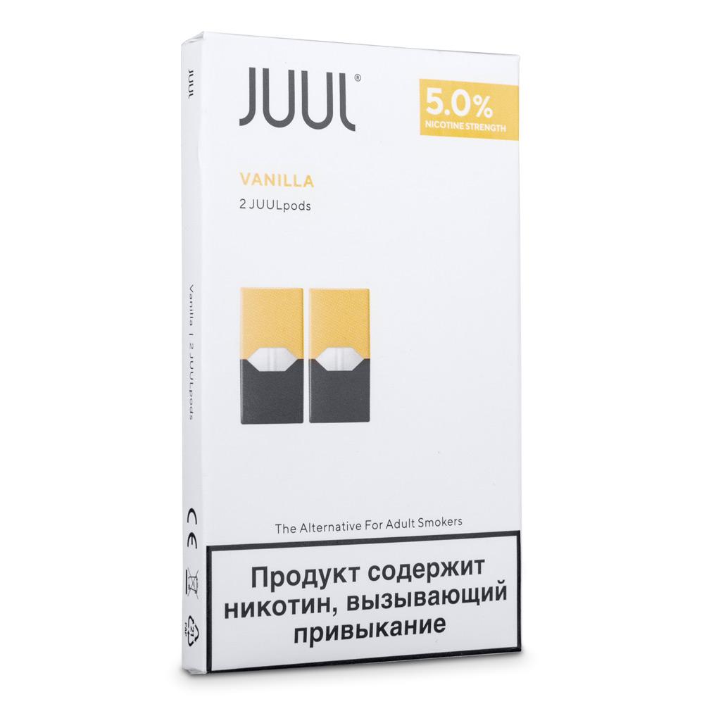 Картриджи Juul (Джул) - Vanilla (2)