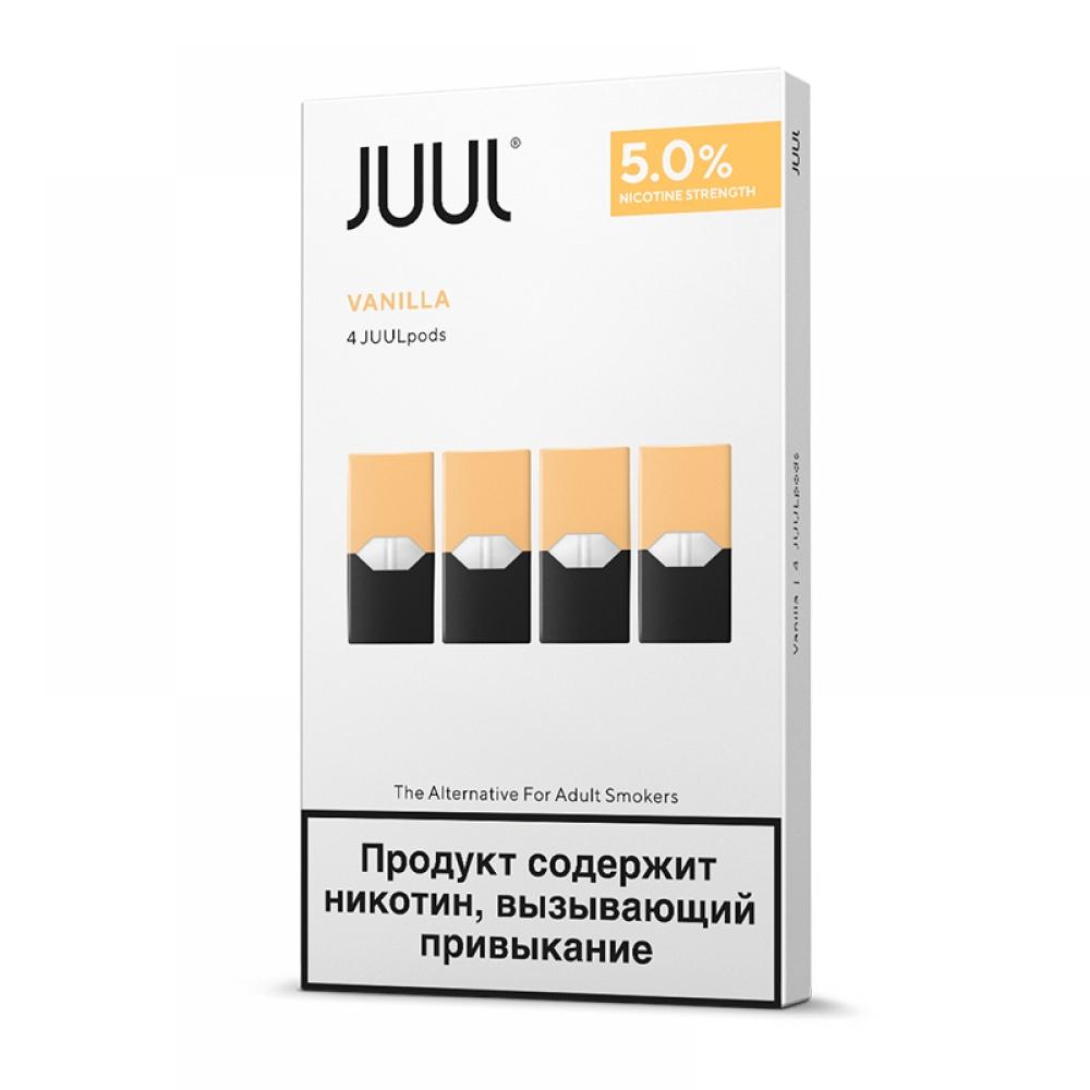Картриджи Juul (Джул) - Vanilla (4)