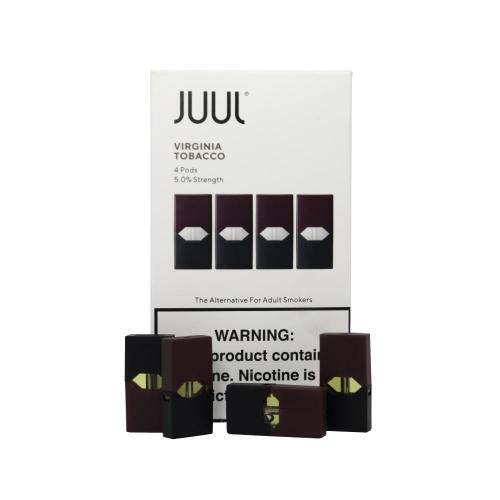 Картриджи Juul (Джул) - Virginia Tobacco (4)