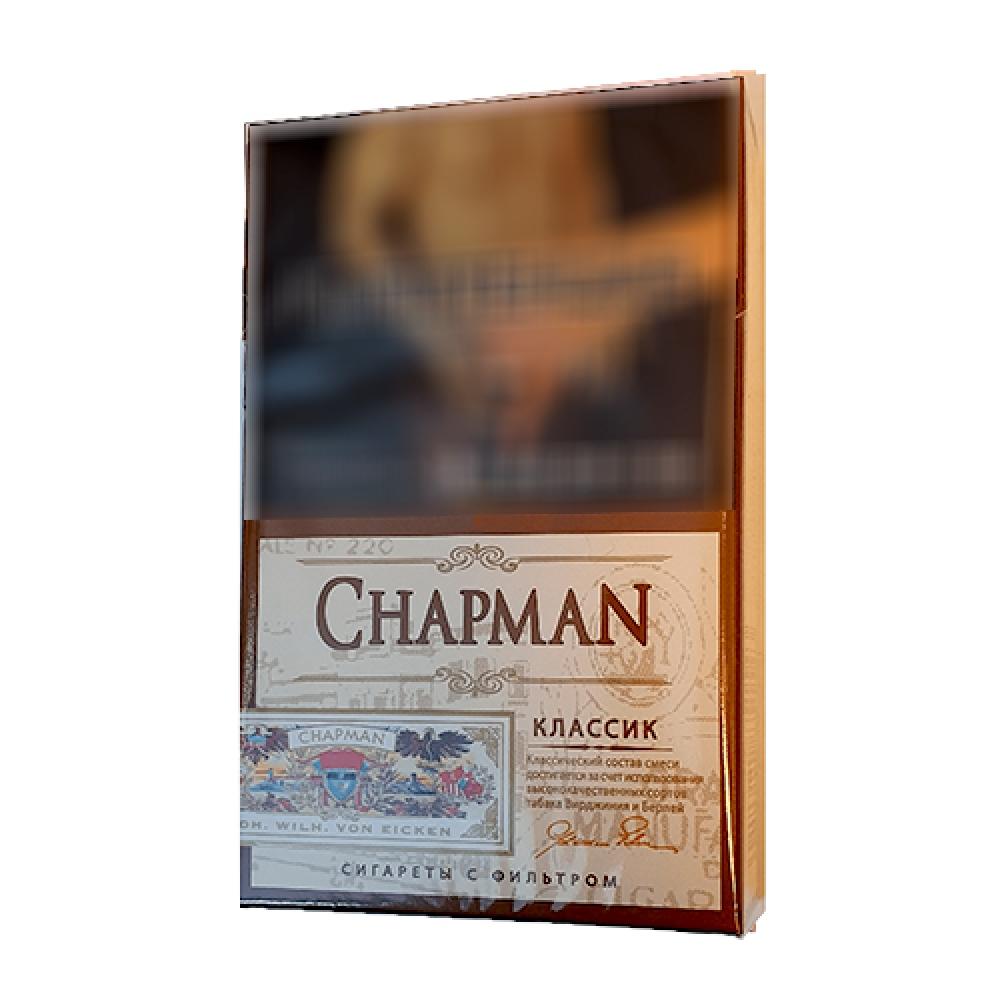 Сигареты тонкие Chapman (Чапман) - Классик