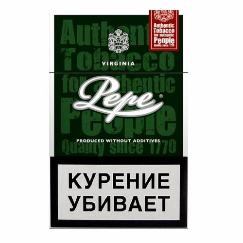 Сигареты Pepe (Пепе) - Dark Green