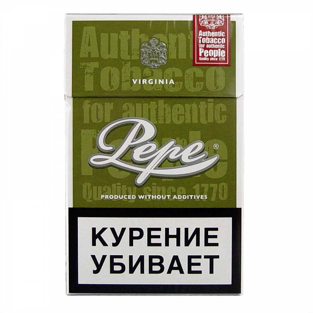 Сигареты Pepe (Пепе) - Rich Green