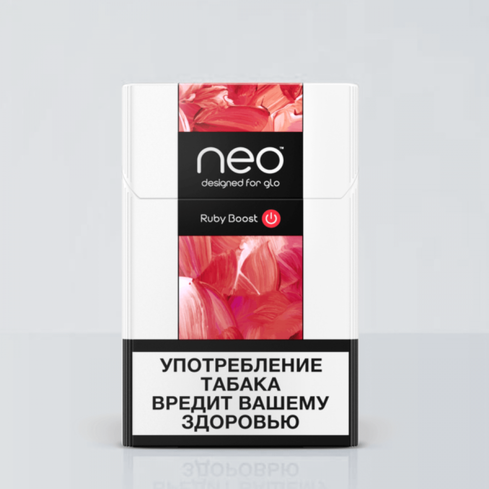 Стики для GLO - Neo Ruby Boost