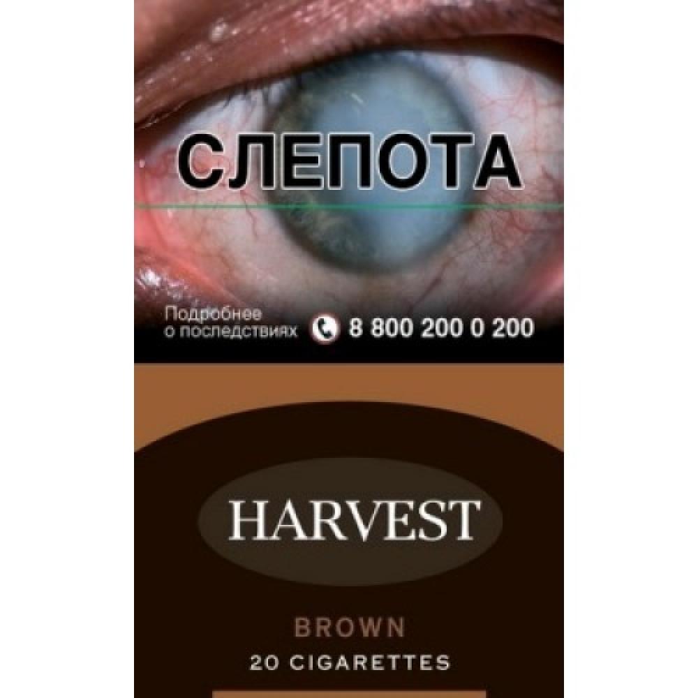 Сигареты Harvest (Харвест) - Brown (Шоколад)