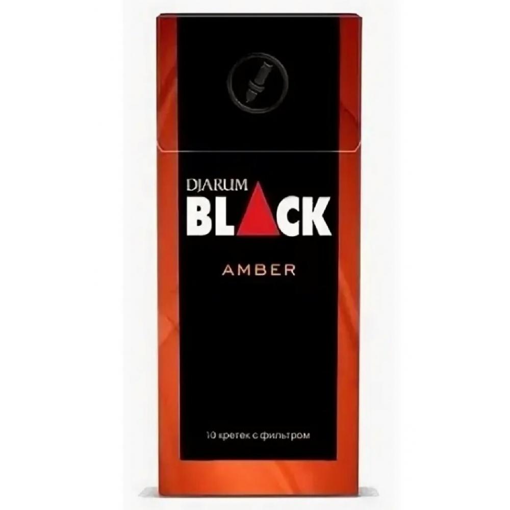 Кретек Djarum Black Amber (жасминовый чай)