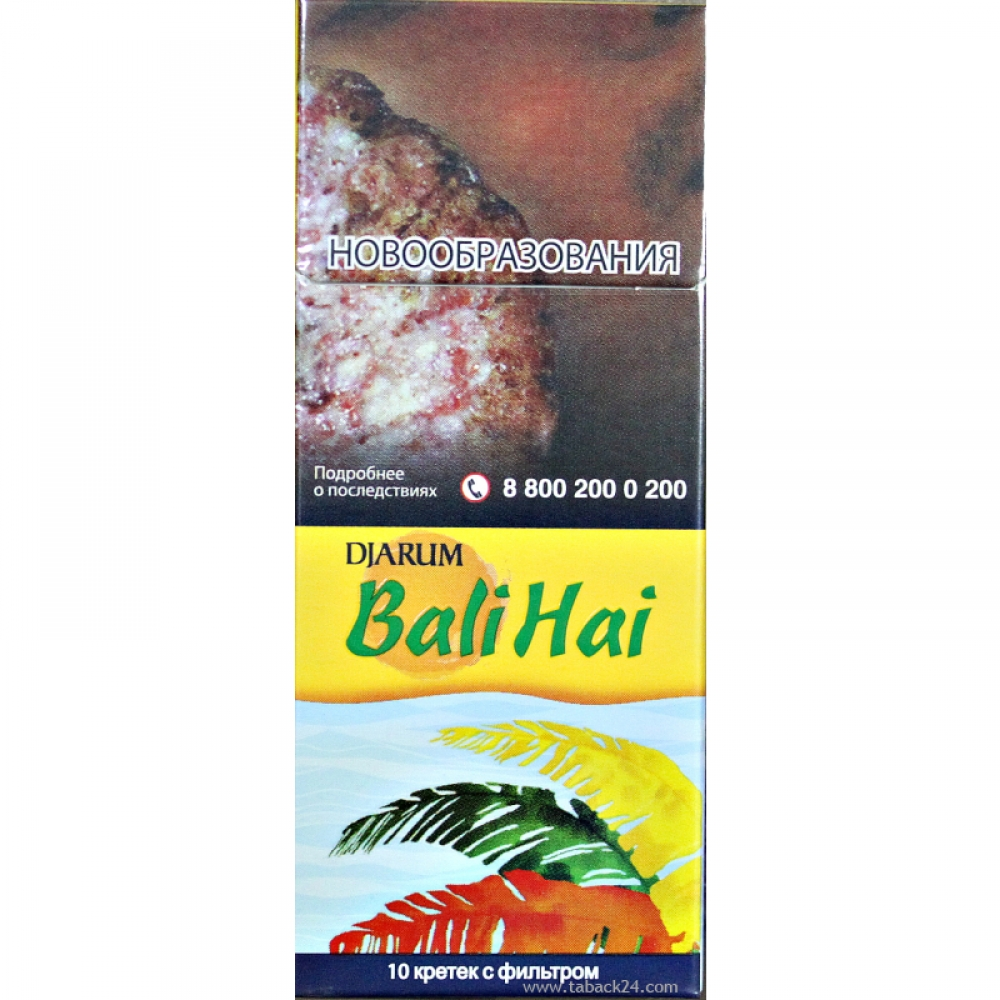 Кретек Djarum Bali Hai (пряный)