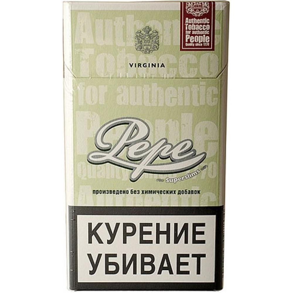 Сигареты Pepe (Пепе) тонкие - Easy Green