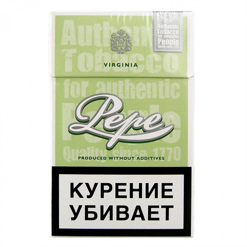 Сигареты Pepe (Пепе) - Easy Green