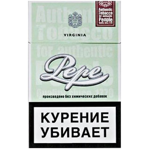 Сигареты Pepe (Пепе) - Fine Green
