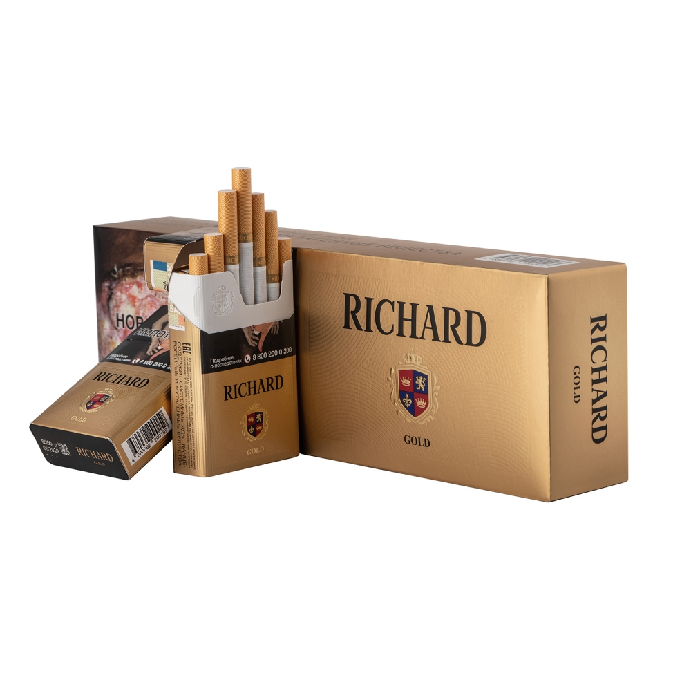 Сигареты Richard (Ричард) - Gold
