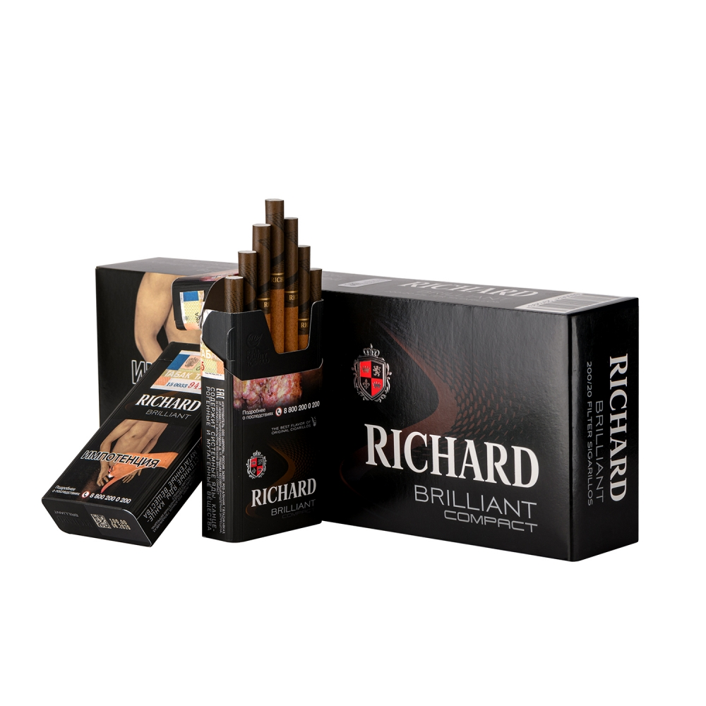 Сигариллы Richard (Ричард) compact - Brilliant