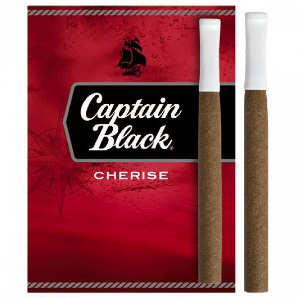 Сигариллы Captain Black Cherise с пластмассовым мундштуком