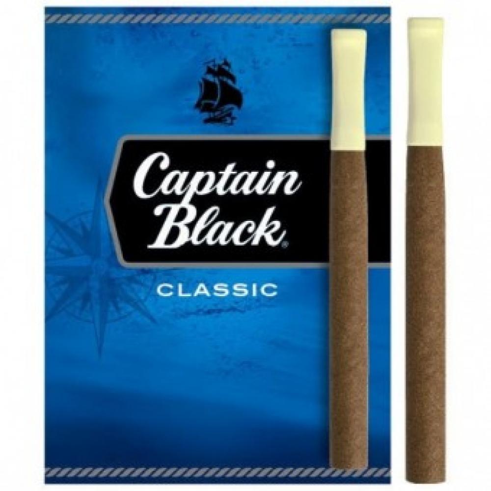 Сигариллы Captain Black Classic с пластмассовым мундштуком