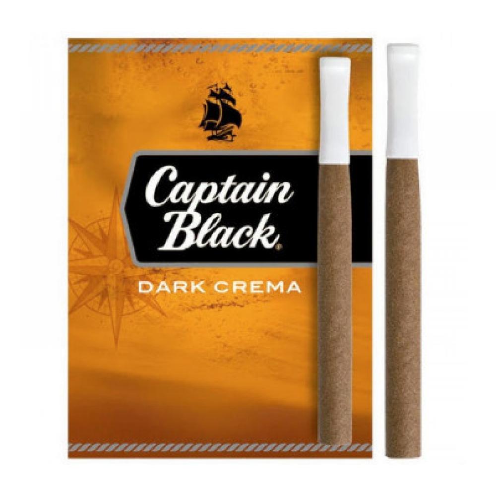 Сигариллы Captain Black Dark Crema с пластмассовым мундштуком