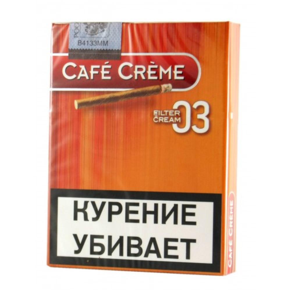 Сигариллы Cafe Creme Cream Filter 03