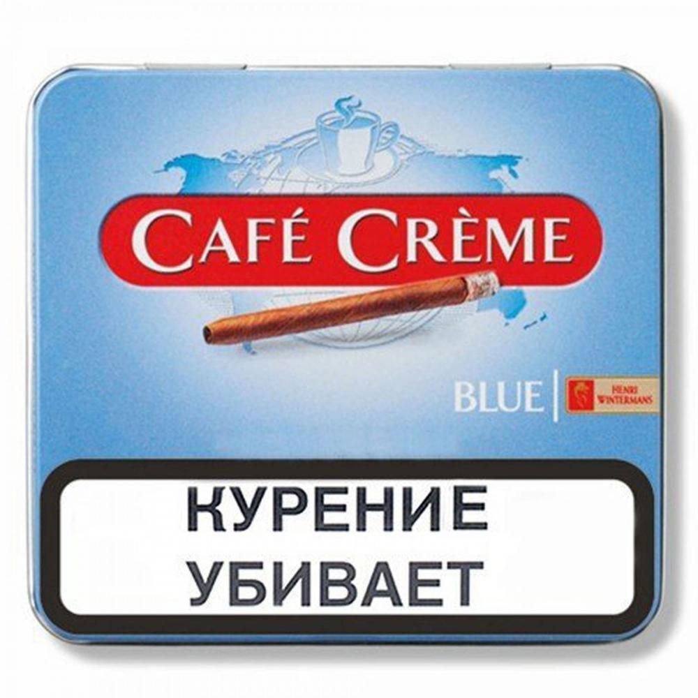 Сигариллы Cafe Creme Blue ж/б