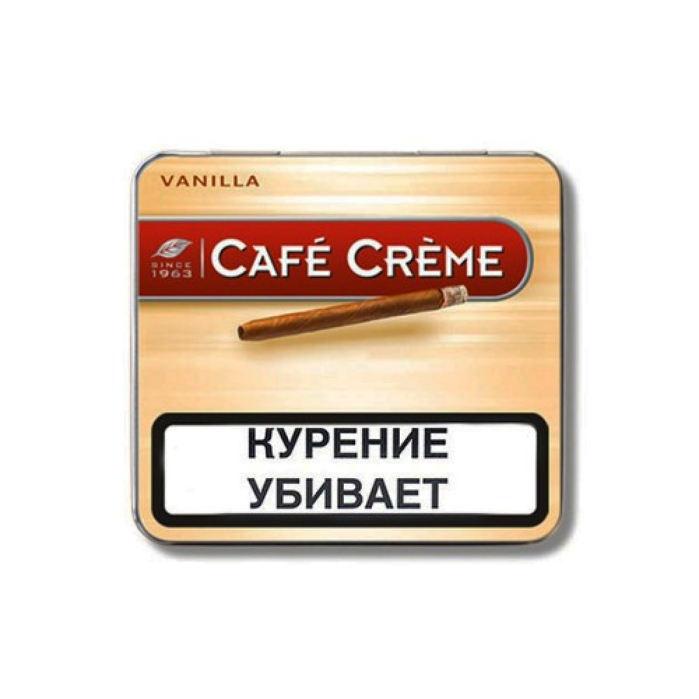 Сигариллы Cafe Creme Vanilla ж/б