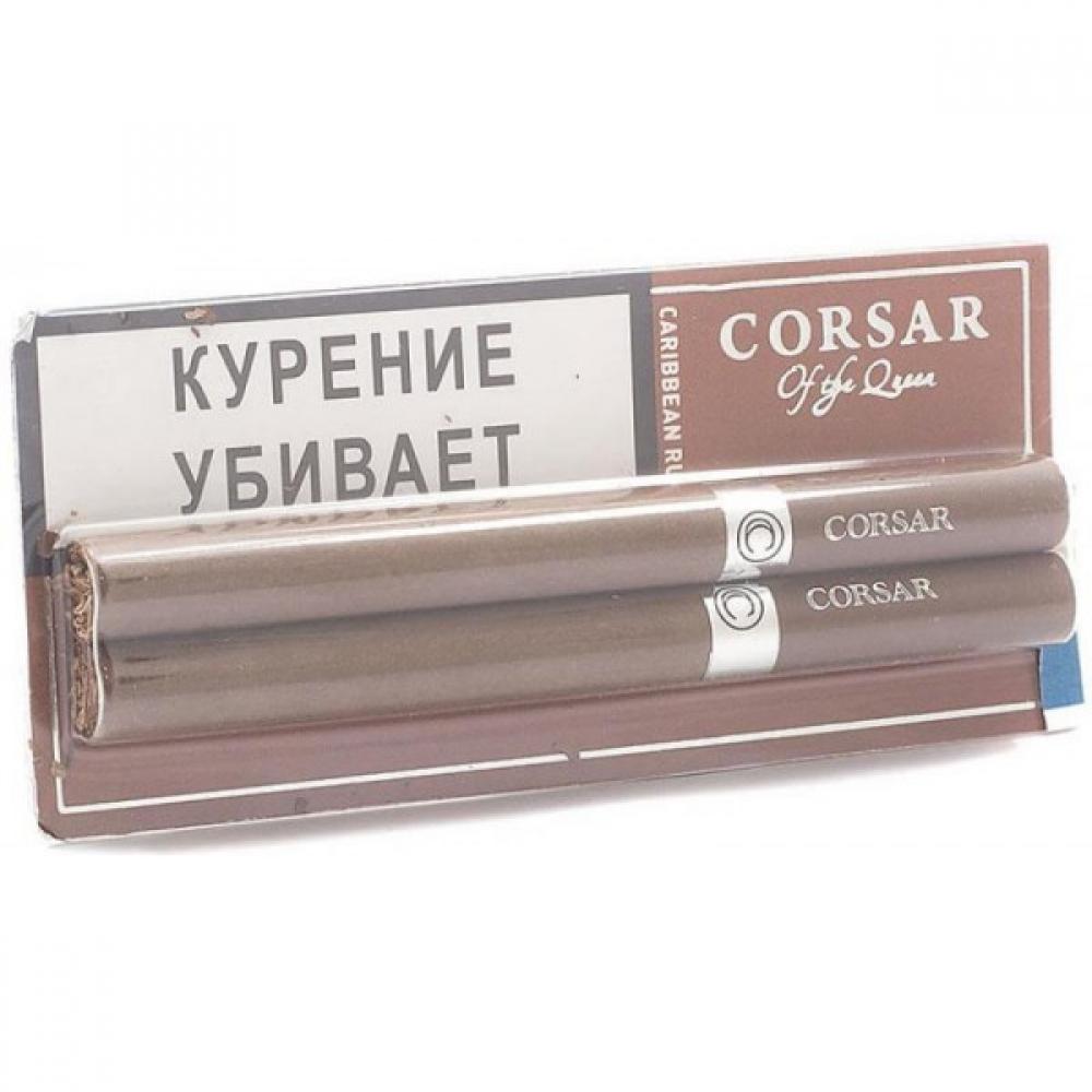 Сигариллы блистер Corsar - Ром