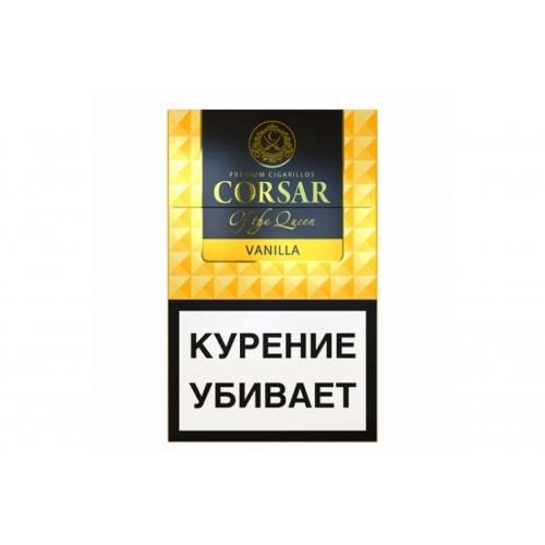 Сигариллы Corsar - Vanilla
