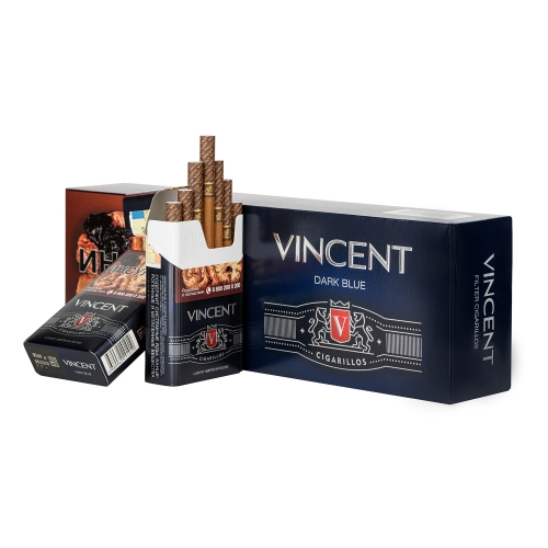 Сигариллы Vincent (Винсент) - Dark Blue
