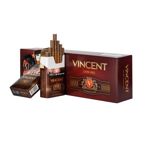 Сигариллы Vincent (Винсент) - Dark Red