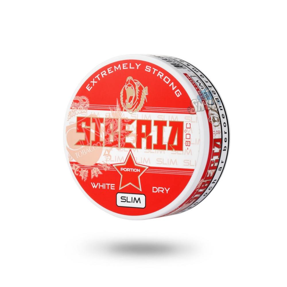 Жевательный табак (Снюс) Siberia (Сибирь) Extremely Strong Slim 13g