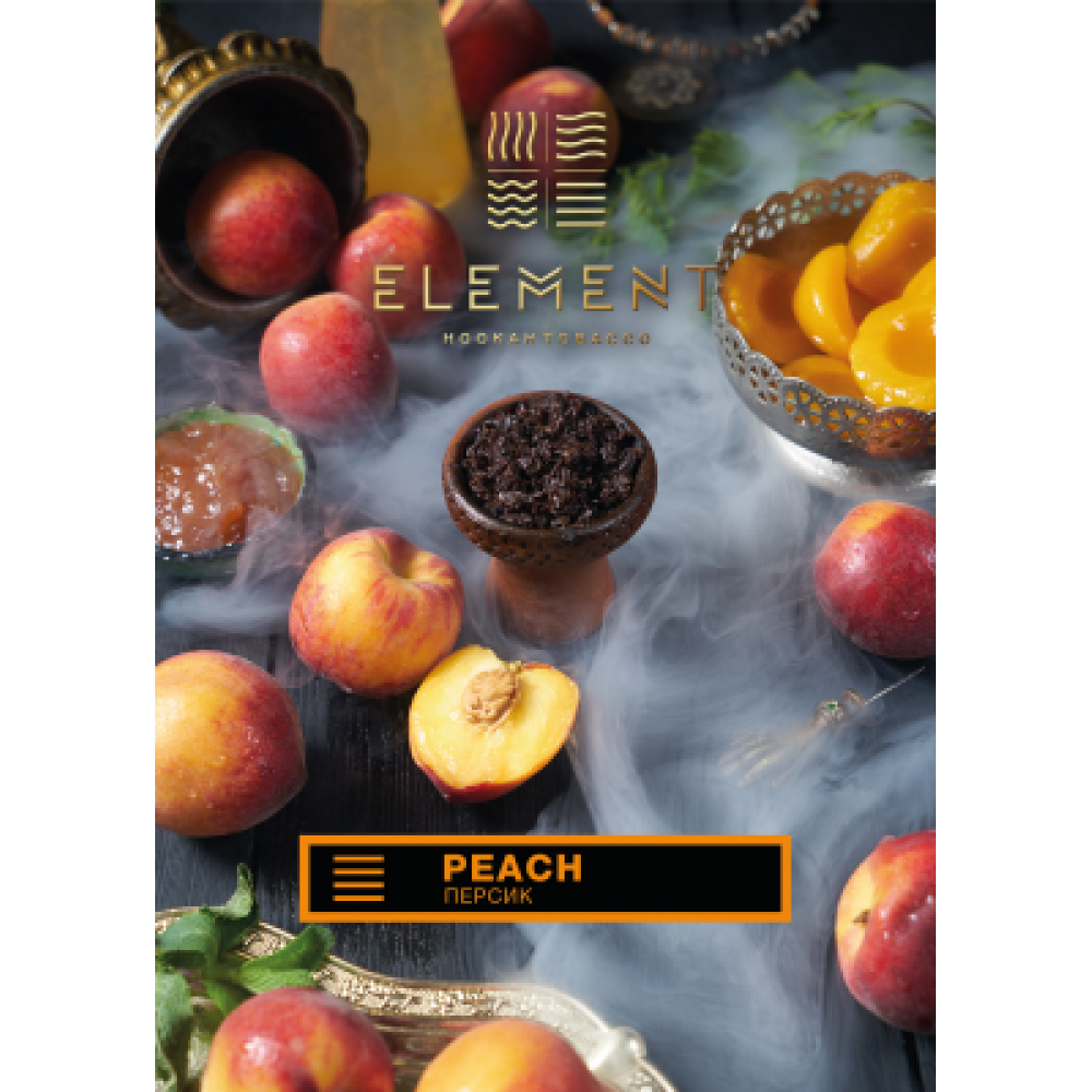 Табак для кальяна Element Земля - Персик